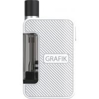 "Hybride E-cigarette / Pod Nhoss - Kit Grafik ""White Edition"""