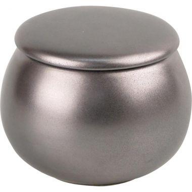 Pot à tabac rond en argent - Réf : 50176