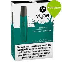 Kit découverte ePen 3 Vype vert(cigarette à pods)