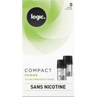 Pods Logic Compact Pomme 0, 6, 12mg