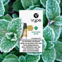 Capsules ePod Saveur Menthe Glaciale sels de nicotine(2 niveaux de nicotine)