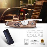 Couteaux coupe cigares Les fines lames -  LE PETIT - Edition Limitée HAVANA CLUB