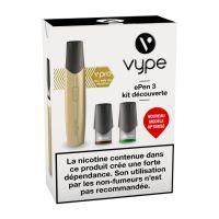 Cigarette électronique ePen 3 Kit découverte - Edition limitée Fresh