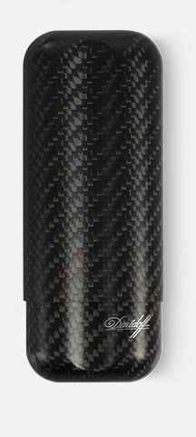 Etui Davidoff en fibre de carbone noir