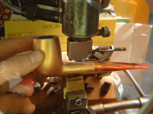 Etape 12 : Le marquage de la pipe